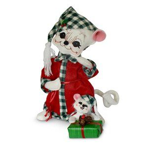 Annalee NWT 8in Northwoods Bedtime Christmas Buddies